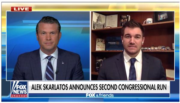 Skarlatos on Fox and Friends